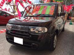 沖縄の中古車 日産 キューブ 車両価格 65万円 リ済別 平成24年 8.9万K ビターショコラP