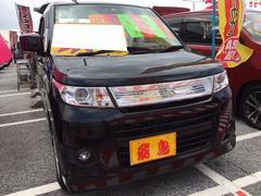 沖縄の中古車 スズキ ワゴンRスティングレー 車両価格 59万円 リ済別 平成22年 4.1万K ブルーイッシュブラックパール3