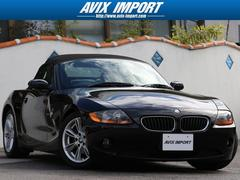 BMW Z42.5i 黒レザー 電動オープン 社外HDDナビ 禁煙車