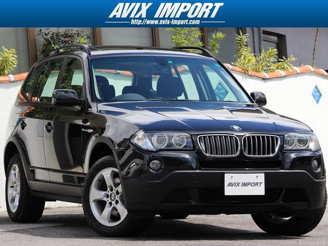 BMW X3 2.5si 後期型 パノラマSR HDDナビ17AW...