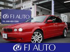 沖縄の中古車 ジャガー ジャガー Xタイプ 車両価格 66万円 リ済別 2001年 4.6万K レッド