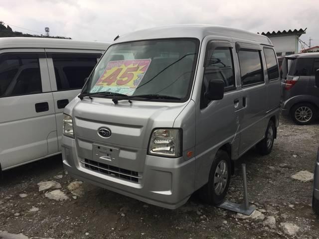 スバル サンバーバン 本土仕入車 トランスポーター (なし)