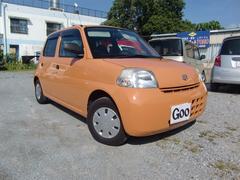 沖縄の中古車 ダイハツ エッセ 車両価格 35万円 リ済込 平成22年 9.4万K オレンジ
