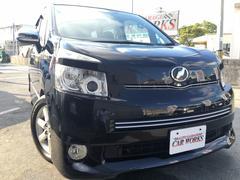 沖縄の中古車 トヨタ ヴォクシー 車両価格 100万円 リ済込 平成20年 9.4万K ブラック