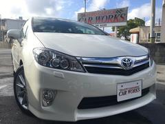 沖縄の中古車 トヨタ SAI 車両価格 120万円 リ済込 平成22年 6.9万K パールホワイト