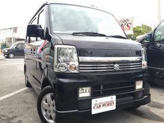 沖縄の中古車 スズキ エブリイワゴン 車両価格 59万円 リ済込 平成18年 9.4万K ブラック