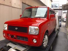 沖縄の中古車 スズキ アルトラパン 車両価格 37万円 リ済込 平成17年 8.9万K レッド