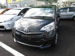 沖縄の中古車 トヨタ ラクティス 車両価格 89万円 リ済別 平成25年 4.8万K ブラック