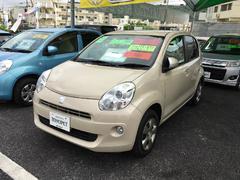 沖縄の中古車 トヨタ パッソ 車両価格 58万円 リ済別 平成23年 6.2万K ベージュ