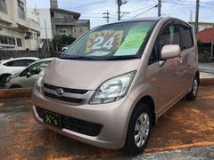 沖縄の中古車 ダイハツ ムーヴ 車両価格 24万円 リ済込 平成19年 13.4万K ライトローズメタリック