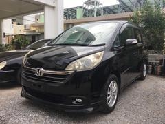 沖縄の中古車 ホンダ ステップワゴン 車両価格 37万円 リ済込 平成18年 13.6万K ブラック