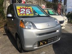 沖縄の中古車 ホンダ ライフ 車両価格 25万円 リ済込 平成22年 10.8万K アラバスターシルバーメタリック