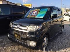 沖縄の中古車 ホンダ ゼスト 車両価格 25万円 リ済込 平成19年 11.2万K ナイトホークブラックパール