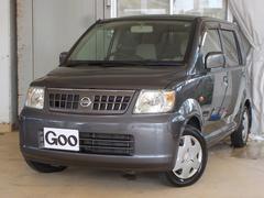 沖縄の中古車 日産 オッティ 車両価格 22万円 リ済込 平成18年 8.2万K グレー