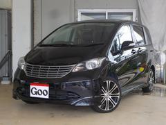 沖縄の中古車 ホンダ フリード 車両価格 33万円 リ済込 平成21年 15.2万K ブラック