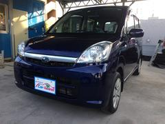 沖縄の中古車 スバル ステラ 車両価格 42万円 リ済込 平成21年 6.6万K WRブルーマイカ