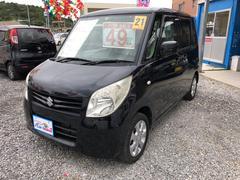 沖縄の中古車 スズキ パレット 車両価格 49万円 リ済込 平成21年 10.4万K ブルーイッシュブラックパール3