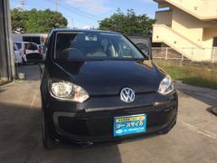 沖縄の中古車 フォルクスワーゲン VW アップ! 車両価格 49万円 リ済込 2013年 8.1万K ブラック