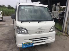 沖縄の中古車 ダイハツ ハイゼットトラック 車両価格 33万円 リ済込 平成18年 13.5万K ホワイト