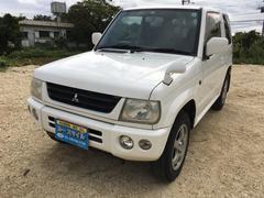 沖縄の中古車 三菱 パジェロミニ 車両価格 28万円 リ済込 平成15年 9.3万K ホワイト