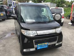 沖縄の中古車 ダイハツ タント 車両価格 40万円 リ済込 平成21年 12.2万K ブラック