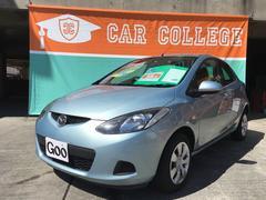 沖縄の中古車 マツダ デミオ 車両価格 49万円 リ済込 平成22年 5.5万K ライトブルー