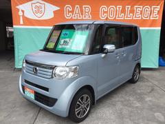 沖縄の中古車 ホンダ N BOX 車両価格 99万円 リ済別 平成26年 5.6万K クールミストメタリック