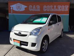 沖縄の中古車 ダイハツ ミラ 車両価格 39万円 リ済別 平成23年 7.0万K オフホワイト