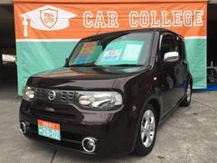 沖縄の中古車 日産 キューブ 車両価格 49万円 リ済別 平成22年 7.9万K ビターショコラP