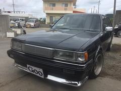 沖縄の中古車 トヨタ マークIIバン 車両価格 35万円 リ済込 平成7年 12.3万K ブラック