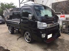 沖縄の中古車 ダイハツ ハイゼットトラック 車両価格 98万円 リ済込 平成27年 0.6万K ブラック