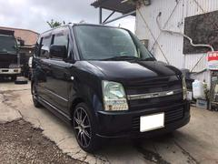 沖縄の中古車 スズキ ワゴンR 車両価格 23万円 リ済込 平成17年 7.9万K ブラック