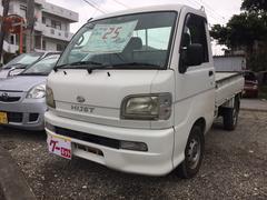 沖縄の中古車 ダイハツ ハイゼットトラック 車両価格 25万円 リ済込 平成12年 10.4万K ホワイト