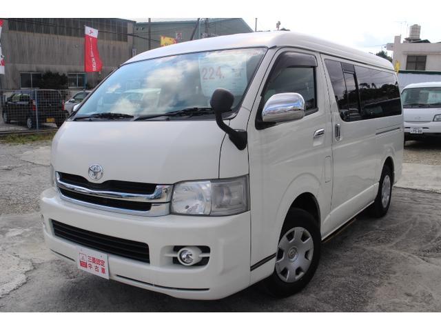 トヨタ GL本土仕入保証付1オーナー社外ナビ地デジTVAC100電源