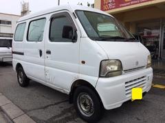 沖縄市 Car Man(カーマン) スズキ エブリイ PA ホワイト 17.7万K 平成17年