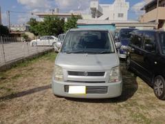 沖縄市 スカイオート スズキ ワゴンR FX 2月契約下取車買取保証2万円 ライトシルバー 14.7万K 平成16年