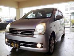 沖縄の中古車 ダイハツ ミラアヴィ 車両価格 24万円 リ済込 平成18年 11.2万K シルバー