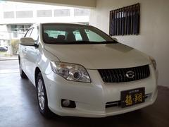 沖縄の中古車 トヨタ カローラアクシオ 車両価格 43万円 リ済込 平成20年 7.1万K パール