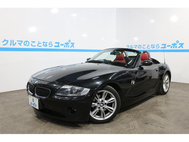 BMW Z4 2.5i ワンオーナー 赤革シート 純正ナビ (検3...