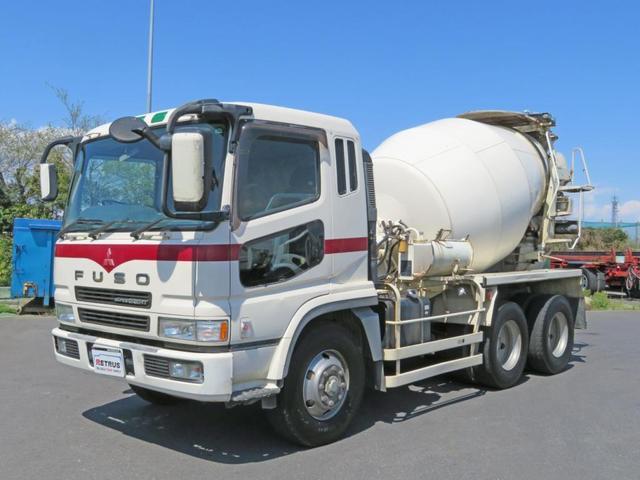 三菱ふそう スーパーグレート カヤバ製ミキサー車 (検30.3)