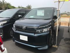 沖縄の中古車 トヨタ ヴォクシー 車両価格 234万円 リ済別 平成26年 2.0万K グリーン