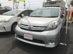 沖縄の中古車 トヨタ アイシス 車両価格 111万円 リ済別 平成25年 7.0万K シルバー