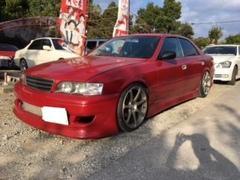 沖縄の中古車 トヨタ チェイサー 車両価格 85万円 リ済込 平成9年 走不明 レッド