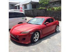 沖縄の中古車 マツダ RX−8 車両価格 40万円 リ済込 平成15年 6.9万K ベロシティレッドマイカ