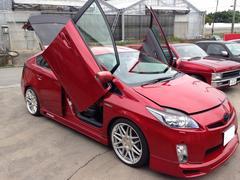 沖縄の中古車 トヨタ プリウス 車両価格 155万円 リ済込 平成22年 2.1万K レッド