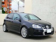 沖縄の中古車 フォルクスワーゲン VW ゴルフ 車両価格 128万円 リ済込 2007年 5.5万K ブラックM