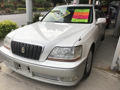 沖縄の中古車 トヨタ クラウンマジェスタ 車両価格 24万円 リ済込 平成13年 19.0万K クリームII
