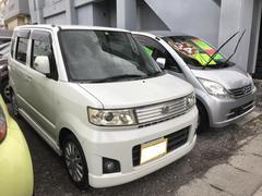沖縄の中古車 スズキ ワゴンR 車両価格 36万円 リ済込 平成19年 11.6万K パールホワイト