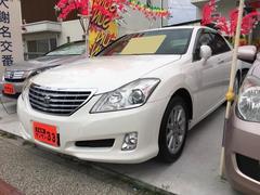 沖縄の中古車 トヨタ クラウン 車両価格 89万円 リ済込 平成20年 12.3万K パール