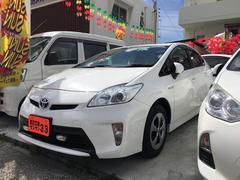 沖縄の中古車 トヨタ プリウス 車両価格 79万円 リ済込 平成24年 9.5万K ホワイト
